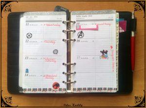 der kleine Wochenkalender Personal